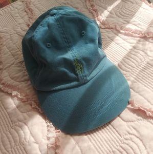 Vintage Polo Ralph Lauren Leather Strap Hat